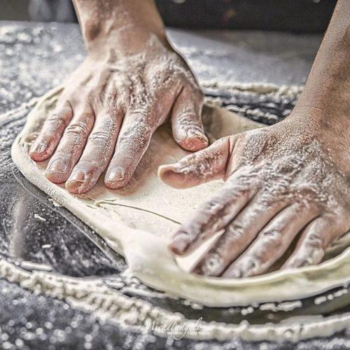 Michelangelo Teig kneten